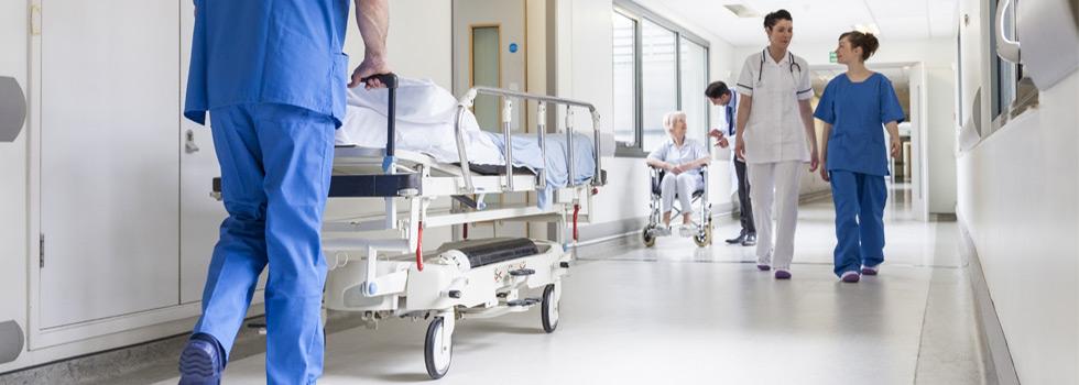 Spital Eingang